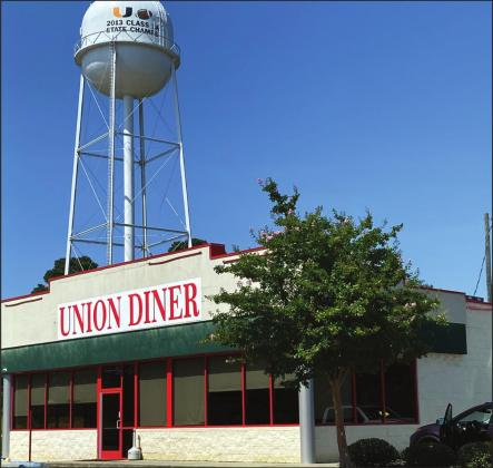 Former Huddle House back in use as Union Diner. Brandon Adkins opened Union Diner last week with a full menu of breakfast, lunch and dinner items. The diner is open seven days a week.Gazette photo by Byron Avery