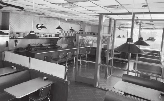 Former Huddle House back in use as Union Diner. Gazette photo by Byron Avery