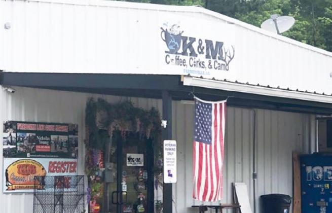 K&M has a variety of fishing and outdoor gear, plus food, snacks and many gifts for the people in your life you care about. Gazette photo by BYRON AVERY